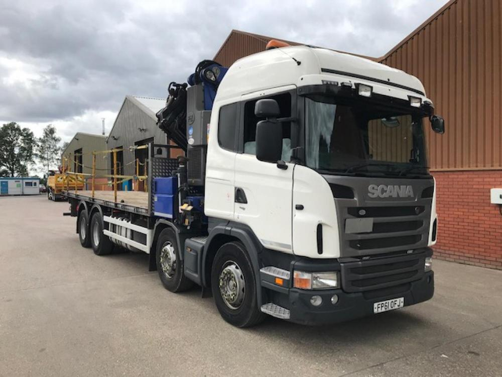 Scania G440 for Sale - Bickford Truck Hire Ltd