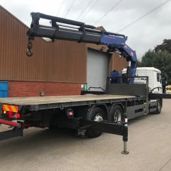 MAN TGA 26.400 & McCauley Trailer .