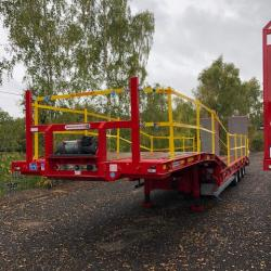 Montracon Low Loader Trailer