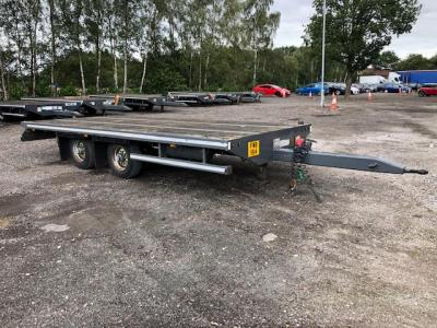 Mccauley Centre Axle Draw Bar Trailer